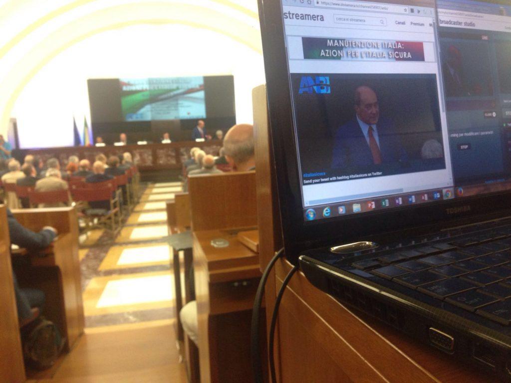 Diretta Streaming alla Presidenza del Consiglio
