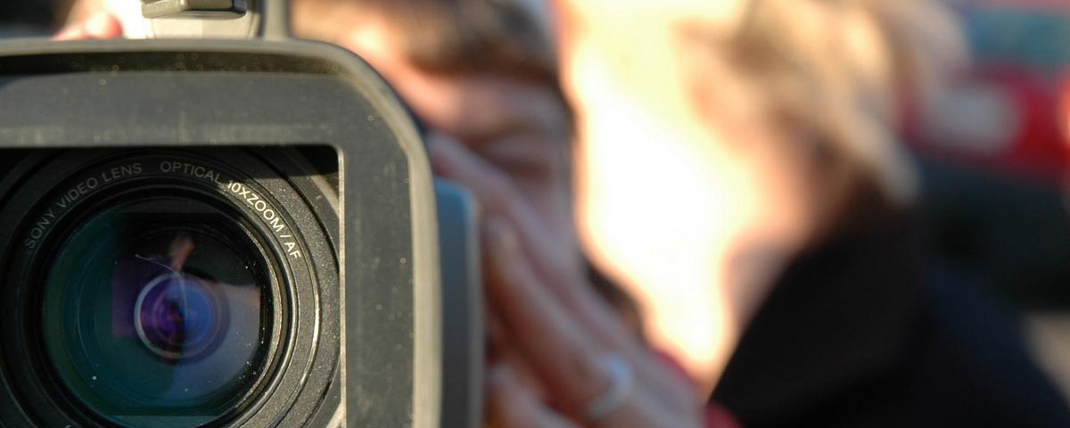 videocamera con mic esterno