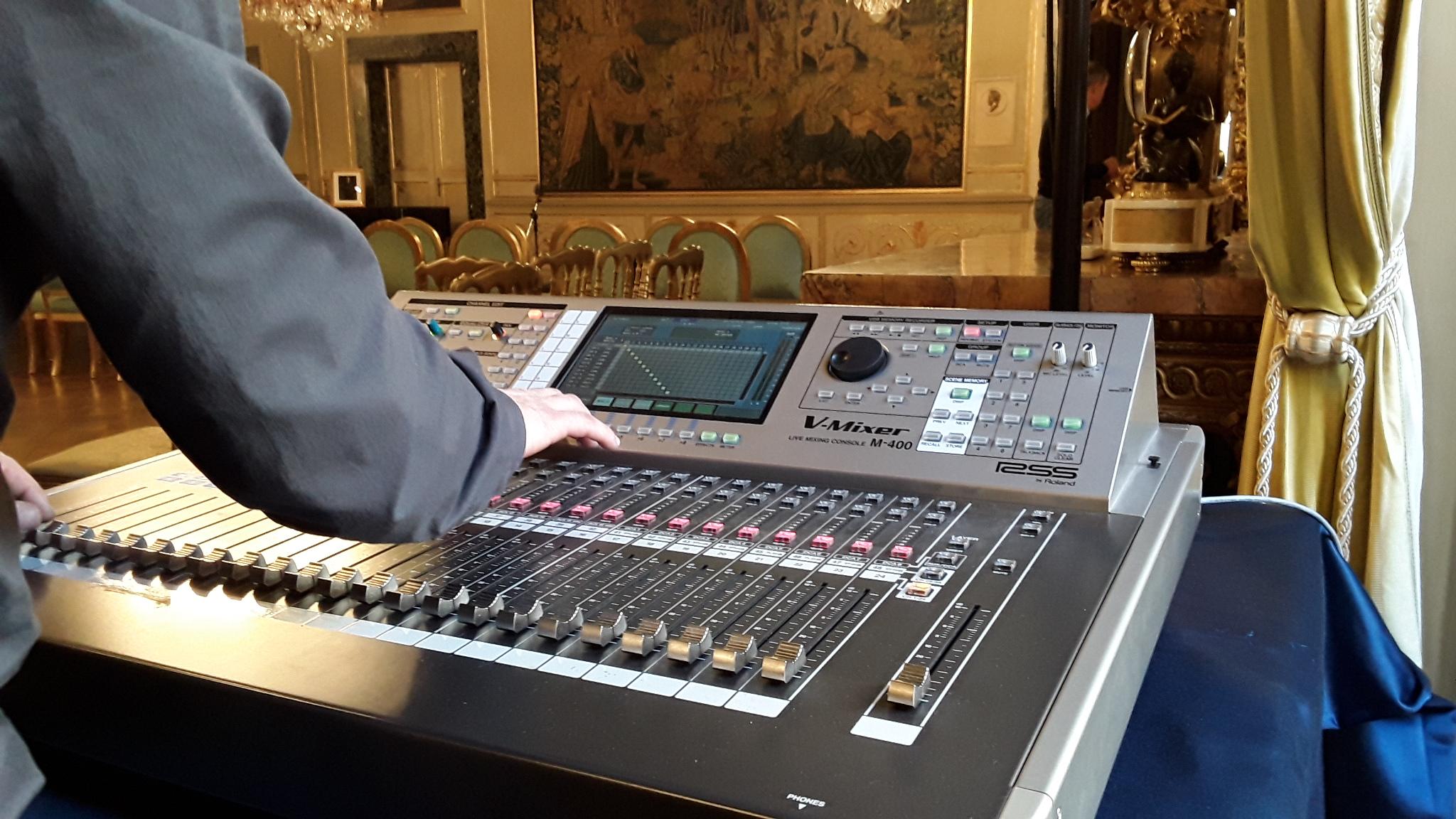 Regia Live Streaming Coro Ufficiale TV Spagnola