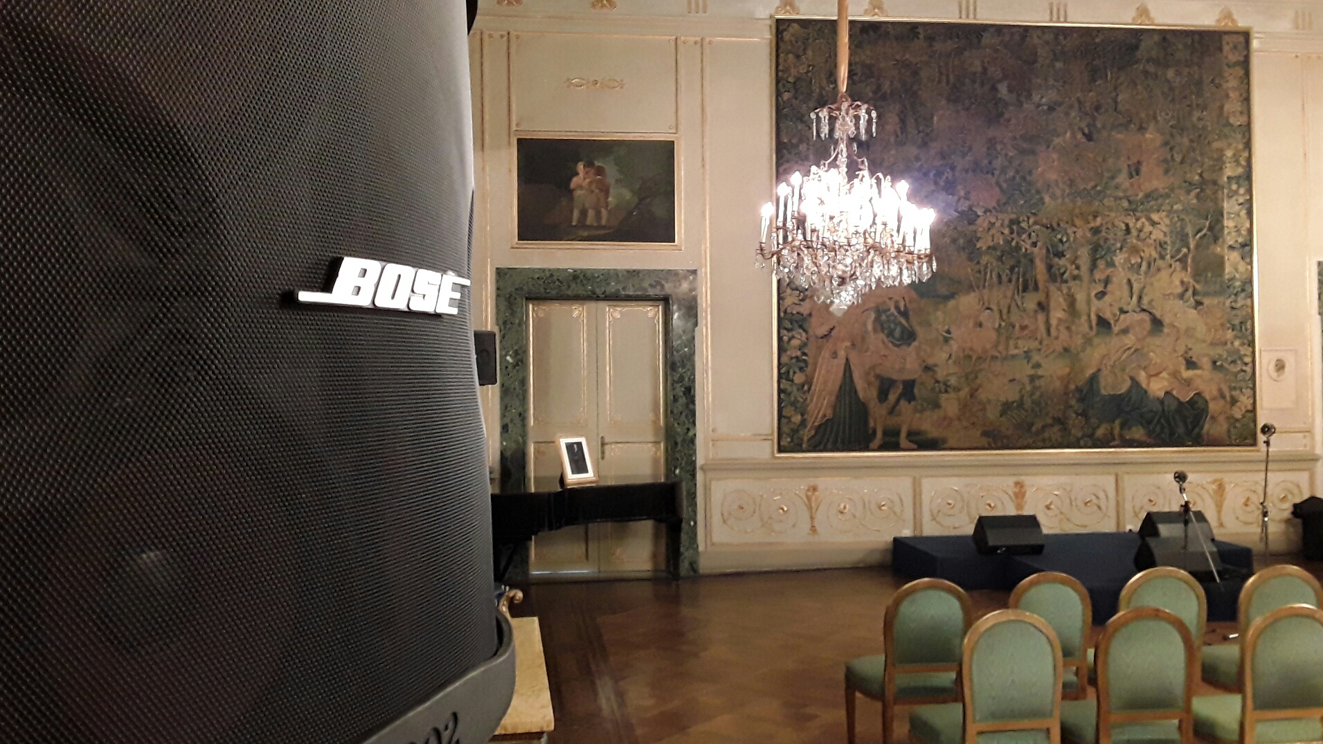 Service audio Coro Ufficiale TV Spagnola