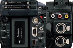 connessioni videocamera