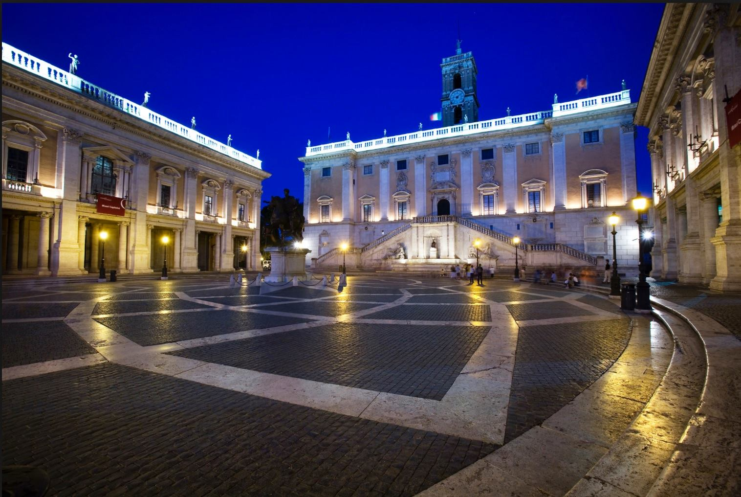 Live streaming in Campidoglio