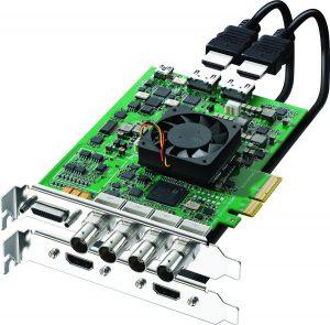 Decklink: strumento per l'acquisizione del segnale video