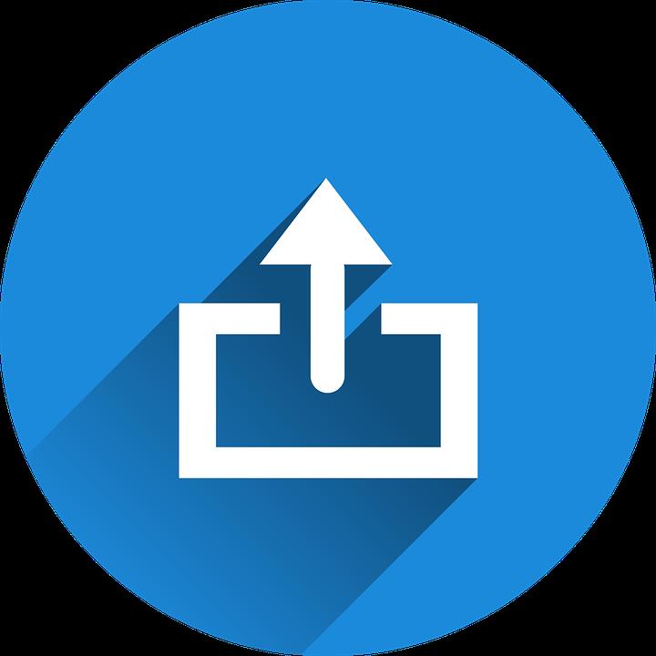 Icona della funzione di upload