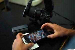 smartphone live