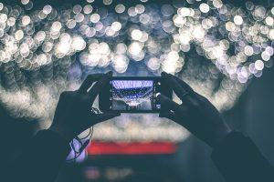 smartphone ripresa live